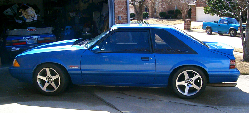 FS: 1989 Kenny Brown Outlaw Ford Mustang LX - Ford Mustang